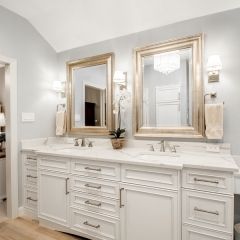 Laxury white painted French style vanity